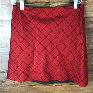J Crew wool mini skirt size:2